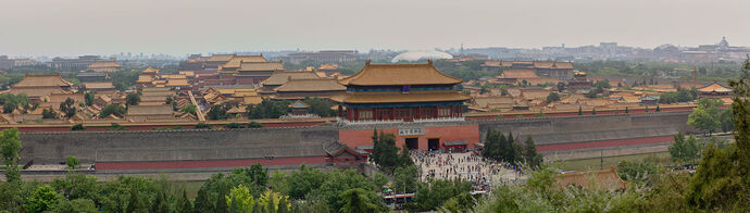 Forbidden city pano 2014