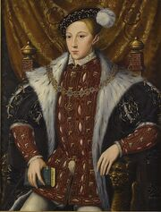 Circle of William Scrots Edward VI of England