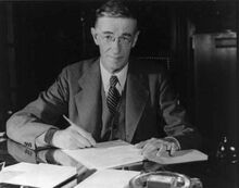 Vannevar Bush portrait