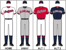MLB-ALC-CLE-Uniform