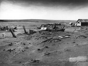 Dust Bowl - Dallas, South Dakota 1936