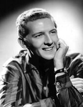 Jerry Lee Lewis 1950s publicity photo cropped retouched