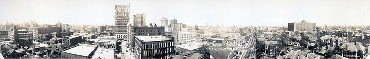 Dallas skyline 1912c