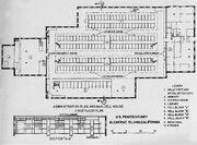 Plan of Alcatraz