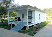 Elvis' birthplace Tupelo, MS 2007