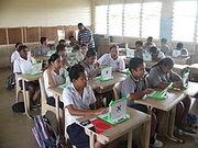 Classroom in Niue
