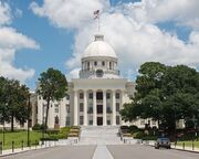 Alabama State Capitol, Montgomery, West view 20160713 1