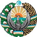 Coat of arms of Uzbekistan cyrillic