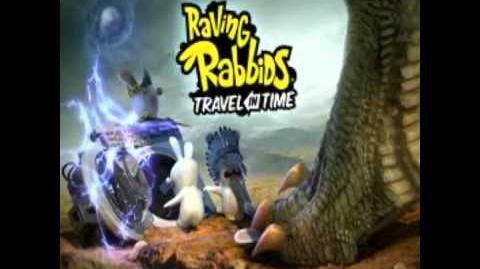 Raving Rabbids Travel In Time Music Walk The Dinosaur