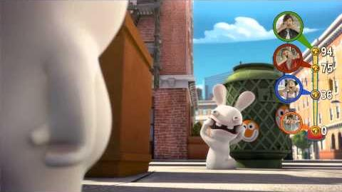 Rabbids Invasion The Interactive TV Show -- Announcement Trailer UK