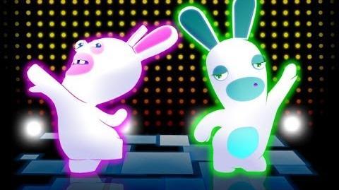 "RABBIDS LAND (MUSIC) ""THE BEANSTALK FREEFALL"" Wii U 1080p"