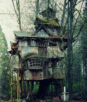 Ramshackle-TreeHouse