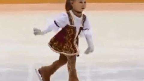 Taisiya Chervenkova-Rasskazova (Age 2)