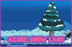 Azure Snow Land
