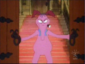 23 - Cyril As He Seen From Front As He Opens The Main Doors To Sneer Mansion