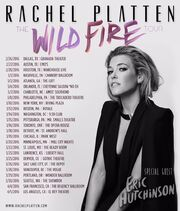 Rachel Platten Wildfire Tour Dates