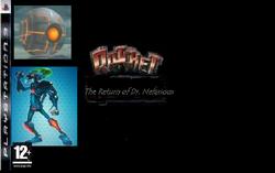 Ratchet- The Return of Dr. Nefarious European Cover