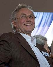 Richard Dawkins feliz