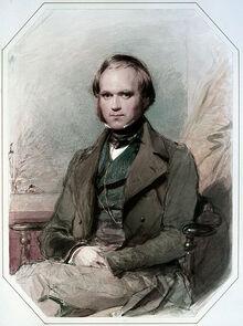 448px-Charles Darwin by G. Richmond