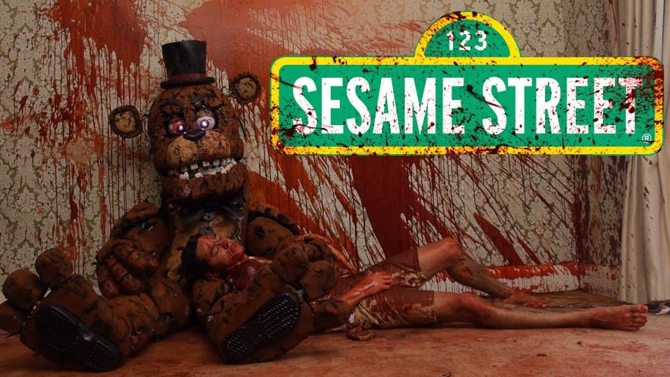 Five Nights At Sesame Street Fnaf Trailer Rackaracka