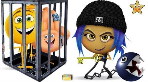 EMOJI MOVIE TOYS Jail Break Game - Surprise Toys, Blind Bags, Kids Video Chef Bergen