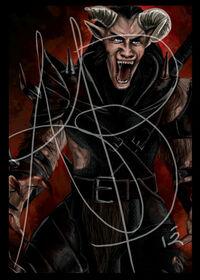 Official trolloc card teaser by reddera