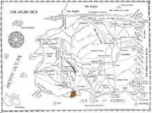Altaran Peninsula map