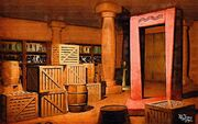 Tear storeroom