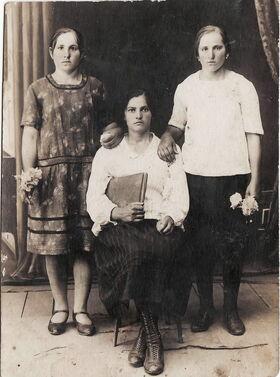 Nadzieja Cyslova 1929