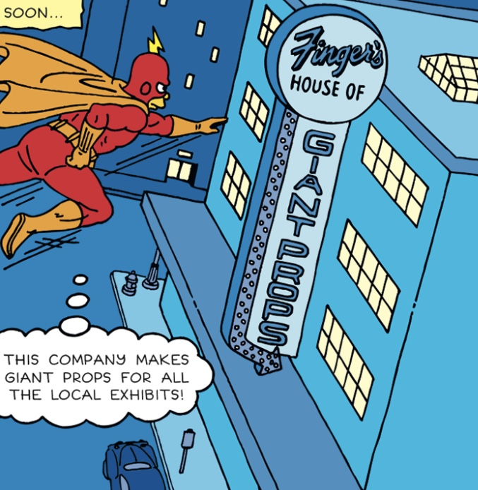 Finger's House of Giant Props   Radioactive Man Wiki   FANDOM