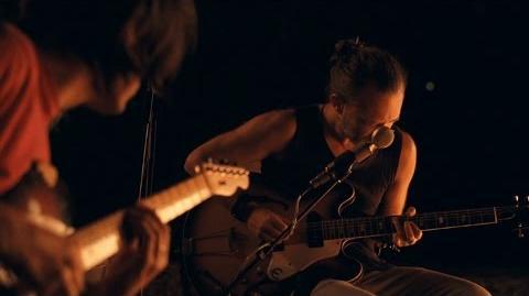 Radiohead - Present Tense- Jonny, Thom & a CR78