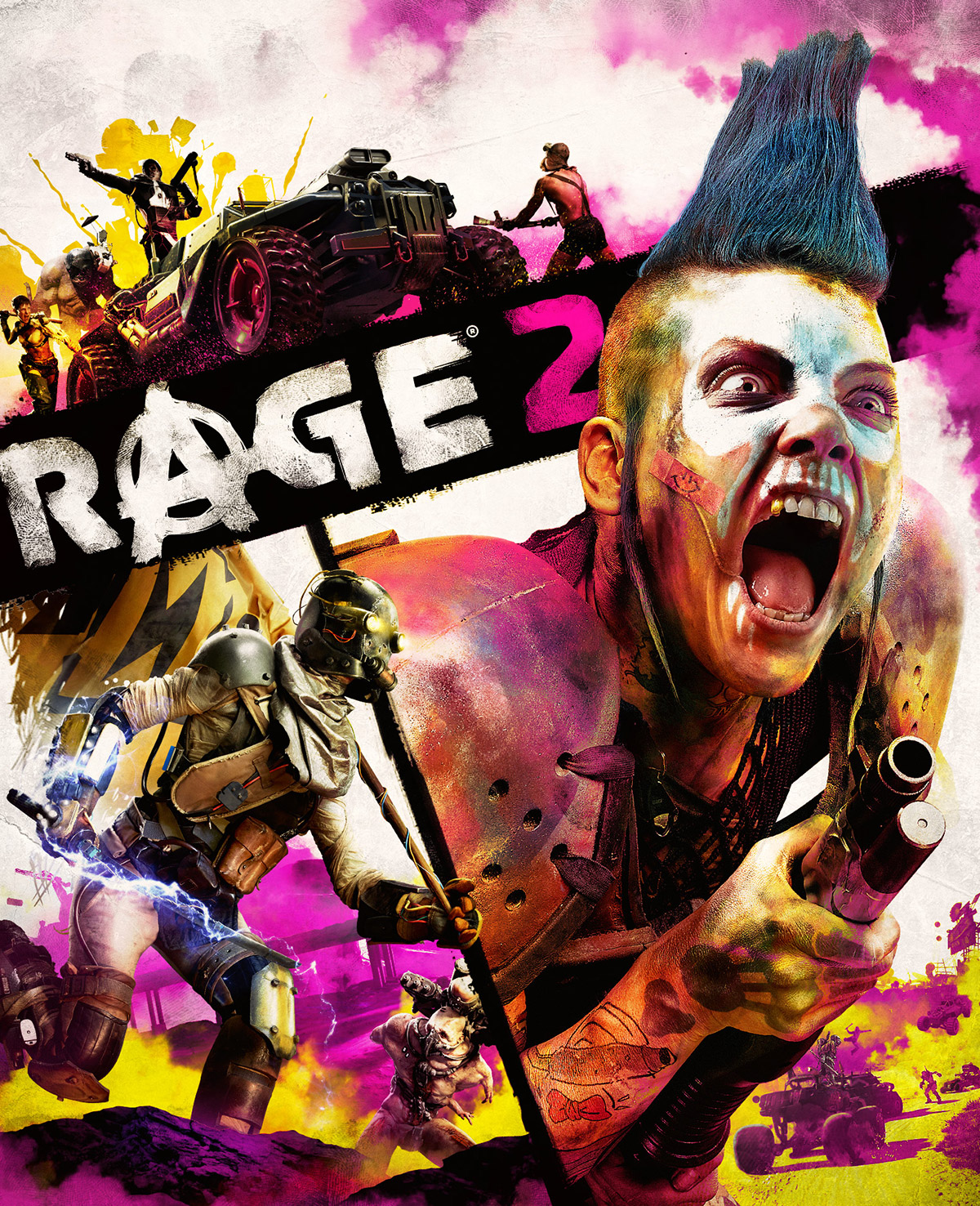 A Goon Right Depicted On The RAGE 2 Boxart