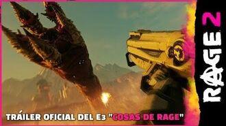 """RAGE 2 – Tráiler oficial del E3 """"COSAS de RAGE"""""""