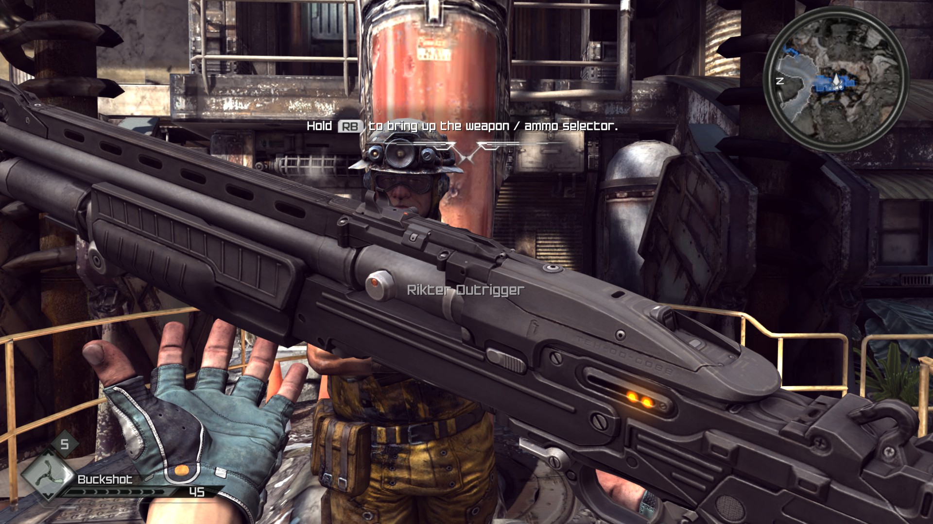 Image result for rage 2 combat shotgun