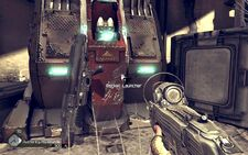 Rage Dead City Rocket launcher