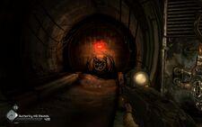 Rage Shrouded Bunker exit hatch