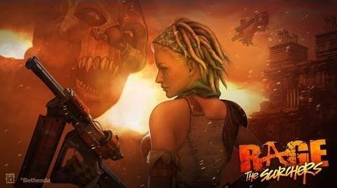 Let's Play Rage The Scorcher's DLC Part 1 - Hagar Caves