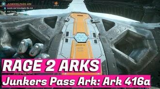 RAGE 2 - Junkers Pass Ark - Id-Accession- Shatter - -RAGE2