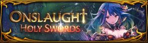 Onslaught XV - Holy Swords Banner