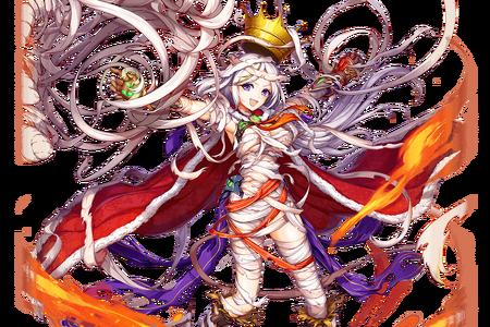 (Mummy Fire King) Kingu Close