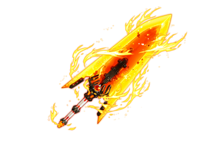 Burning Blade Big Flare