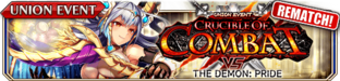 Crucible of Combat vs The Demon - Pride (Rematch) - Small Banner