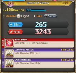 FLB Sword of Victory +99