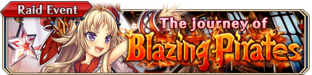 The Journey of Blazing Pirates - Small Banner