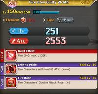 FLB Fire Bow Guilty Wrath +99