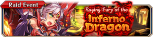 Raging Fury of the Inferno Dragon - Small Banner