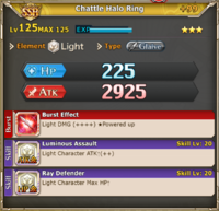 MLB Chattle Halo Ring +99