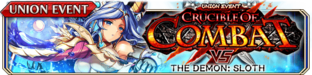 Crucible of Combat vs The Demon - Sloth (Small Banner)