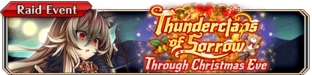Thunderclaps of Sorrow Through Christmas Eve - Small Banner