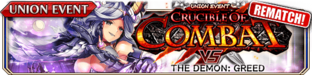 Crucible of Combat vs The Demon - Greed (Rematch) - Small Banner